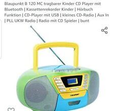 Blaupunkt B120 MC tragbarer Kinder CD-Player mit Bluetooth Neu
