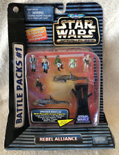 Star Wars Micro Machines Action Fleet Battle Packs #1 Rebel Alliance 1996