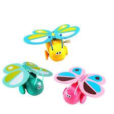 Clockwork Butterfly High New Kids Toddler Wind-up Butterfly Walking Toy~~0hk