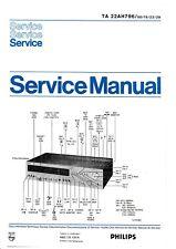 Service Manual-Anleitung für Philips 22 AH 796