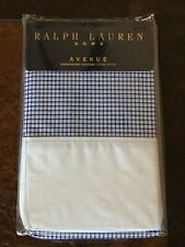Ralph Lauren BUTLER CHECK STANDARD PILLOWCASES~HABERDASHERY SHIRTINGS COLLECTION