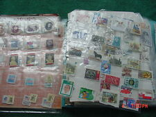 Estate Sale Notebook full of World & Collectible Stamps Huge Lot