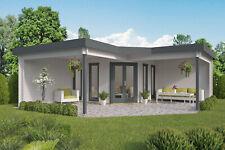 44 mm Gartenhaus ISO-Glas 678x678 cm Blockhaus Holzhaus Unterstand Anbau Holz