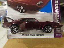 Hot Wheels '69 Dodge Charger Daytona HW Showroom Purple Fast & Furious