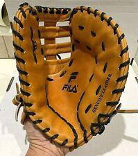 Vintage FILA First Baseman Baseball Glove Genuine Leather Right Hand PF1