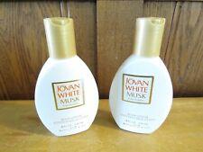 Jovan White Musk For Women Body Lotion 4 oz. - Set of 2 - New