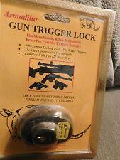 Armadillo Gun Trigger Lock for Most Pistols Shotguns Rifles Vintage 1998