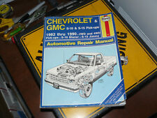 Haynes  831 Manuals: Haynes Chevrolet and GMC S10 S-15 Pickups Workshop Manual