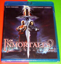 LOS INMORTALES II EL DESAFIO / HIGHLANDER II THE QUICKENING English Español Prec
