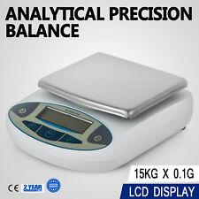 15kg x 0.1g 33LB Lab Balance Electronic Scale Diet Digital  Precision