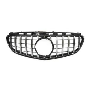 45C FRONT RADIATOR MASK GT GRILLE FOR 2013-2015 BENZ E-CLASS W212 PANAMERICANA
