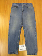 Wrangler model # unclear grunge jean tag 36x32 Meas 35x31.5 zip11177
