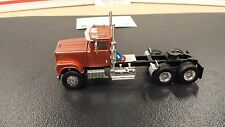 1/64 MAROON 30014 TOP SHELF REPLICAS TSR IH 4300 CONVENTIONAL SEMI CAB TRUCK DCP
