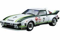 Aoshima 1/24 Model Car No.22 Mazda SA22C RX-7 Daytona '79 Model Kit(Japan I