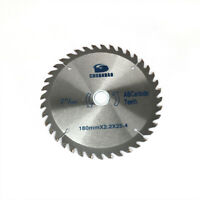 """7 Inch Carbide Circular Saw Blade Cutting Disc Cutter for Woodworking 1"""" Bore"""