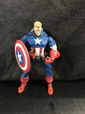 2006 MARVEL LEGENDS FACE-OFF Series 1 CAPTAIN AMERICA UNMASKED Action Figure