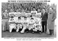 DUNDEE UNITED F.C.TEAM PRINTS 1960's (1959-60/1960/1961/1962/1968/1969)