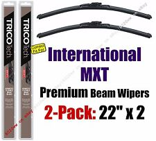 Wiper Blades 2-Pack Premium - fit 2007-2009 International MXT - 19220x2