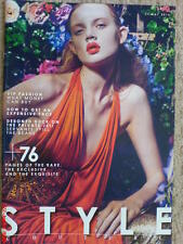 SUNDAY TIMES STYLE MAGAZINE MAY 2014 THE COUTURE ISSUE VIP FASHION LBD JAR NEW