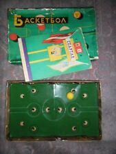 Vintage Original USSR Soviet Board Game Basketball BIG 20 INCHES RARE