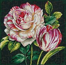 Dimensions Crafts 70-35314 Tulip Drama Counted Cross Stitch Kit