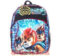"LEGO Chima ""The Lion Tribe"" 16"" Kids School Backpack Bookbag, New"