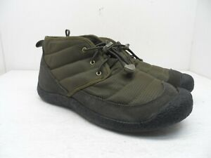 KEEN Men's Howser II Chukka Athletic Casual Shoe Dark Olive/Black Size 9M