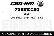 1999 - 2004 Bombardier Traxter L.h. hex jam nut M12 732610020