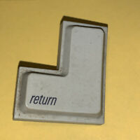Apple IIc iic 2C replacement KEY (return) VINTAGE REPLACEMENT KEY