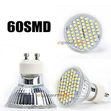 GU10 60 LED 3528 SMD 5W Warm White 3500K High Power Spot Light Lamp Bulb 220V