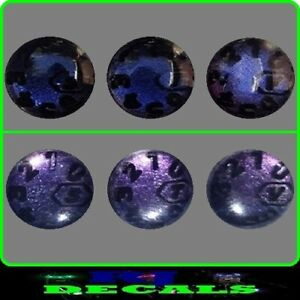 Re-act to Light Dial Decals Set ( Blue to Purple ) Delkim Txi Ev Std Alarms