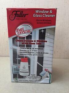 Fuller Brush Co. Full Crystal Window and Glass Cleaner