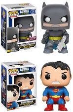 Funko POP! DC Heroes ~ ARMORED BATMAN vs. SUPERMAN (DARK KNIGHT RETURNS GN)