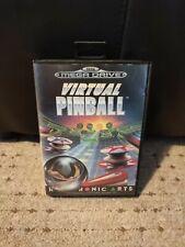 Virtual Pinball für Sega Mega Drive OVP mit Anleitung