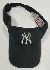 Vintage Annco Visor MLB NY Yankees Silver Logo