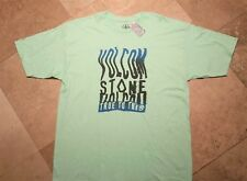*NWT Volcom Short Sleeve Graphic Tee Shirt 100% Cotton Green XL