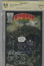 ZOMBIE WAR #1 CBCS 9.2 signed by KEVIN EASTMAN