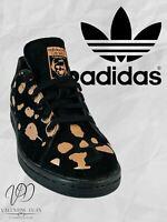 Adidas Originals Women's Trainers Stan Smith Classic Retro Sneakers Size 4.5 Uk