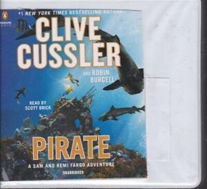 PIRATE by CLIVE CUSSLER ~UNABRIDGED CD AUDIOBOOK