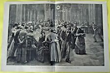 1891 la table de roulette Monaco salle de jeu de Monte-carlo Prince princesse