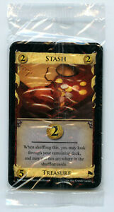 Dominion Promo Card Stash new set of 11 in sealed pack with randomizer