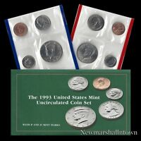 1993 P+D U.S. Mint Set ~ Kennedy Washington Roosevelt Jefferson Lincoln US Coins