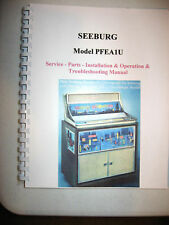Seeburg Model Pfea1U Electra Jukebox Manual
