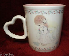 Collectible 1991 Precious Moments Mug With Love to My Mother Samuel J. Butcher