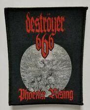 DESTROYER 666  PHOENIX RISING  WOVEN PATCH