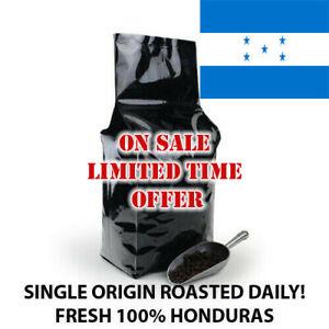 2, 5, 10 LB HONDURAS FRESH ROASTED COFFEE WHOLE BEAN, GROUND - ARABICA