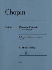 Henle Urtext Chopin Polonaise-Fantaisie A-flat Major Op. 61, w fingering