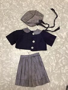 Vintage Doll Dress Ideal Vogue Bisque Effanbee Alexander Revlon 3 Piece Outfit