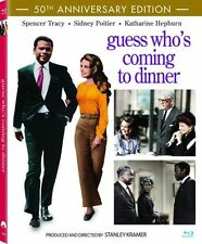 GUESS WHO'S COMING TO DINNER (50th anniversary) - BLU RAY - Region A - Sealed