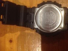 CASIO GSHOCK GA110GB GLOSS BLACK/GOLD ANALOG-DIGITAL DIVING WATCH
